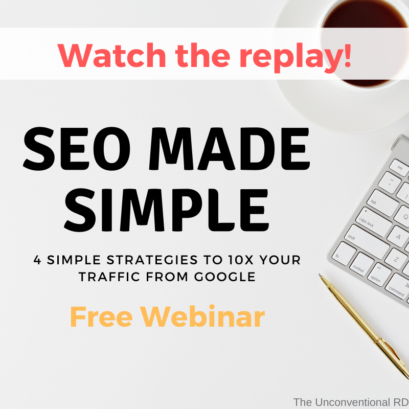 SEO Webinar Replay