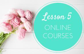 lesson 5 online courses